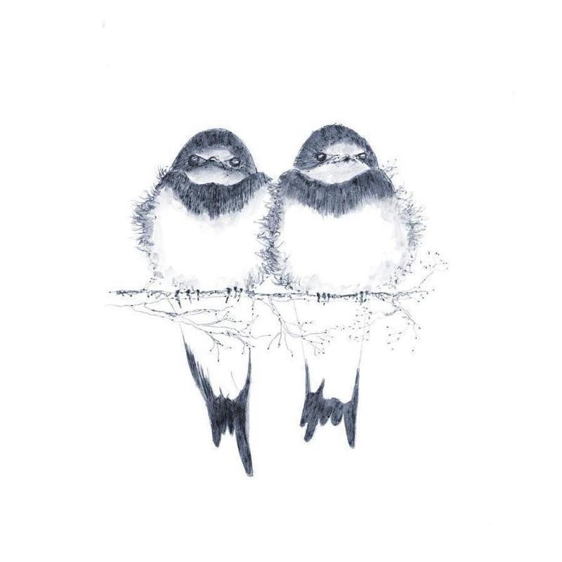 Birds Leinwandbild