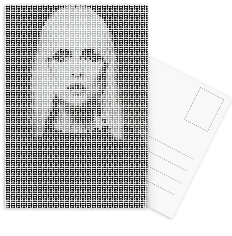 Heart Of (White Version) Postcard Set