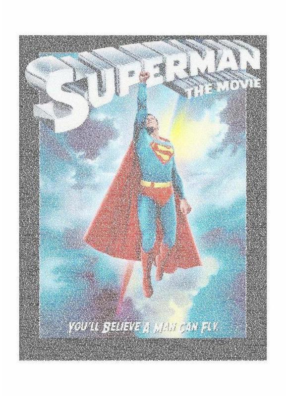Superman 1978 toile