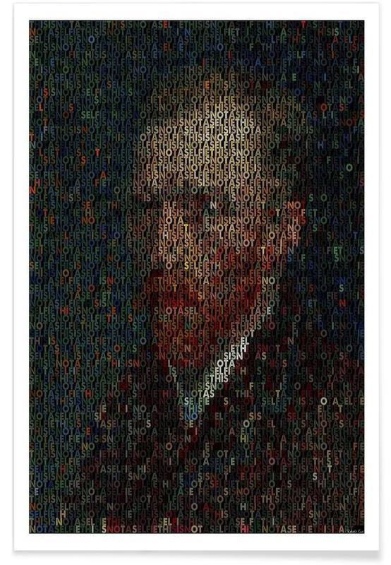 Vincent Van Gogh Pointillism Poster