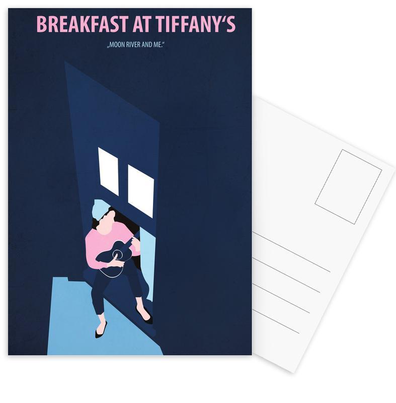Breakfast at Tiffany's Postcard Set