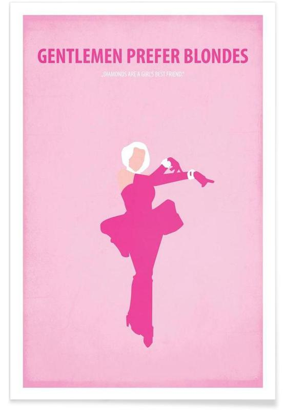 Gentlemen prefer Blondes -Poster