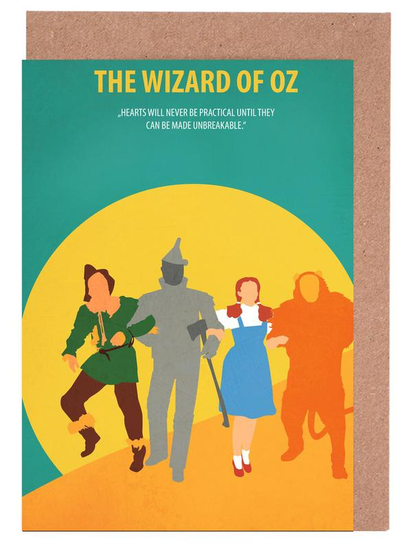 The Wizard of Oz Greeting Card Set
