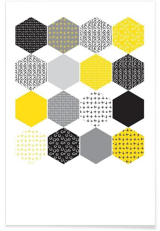 Yellowhex Poster