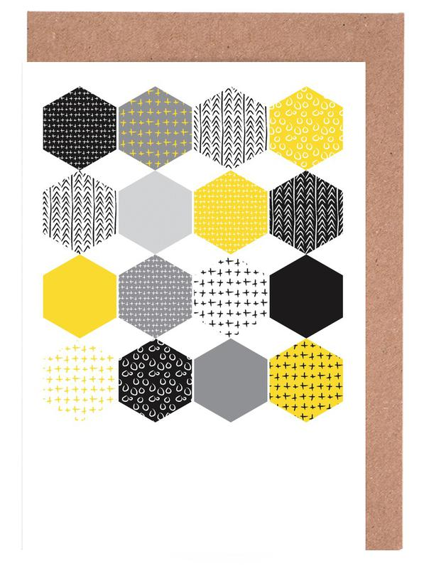 Yellowhex -Grußkarten-Set