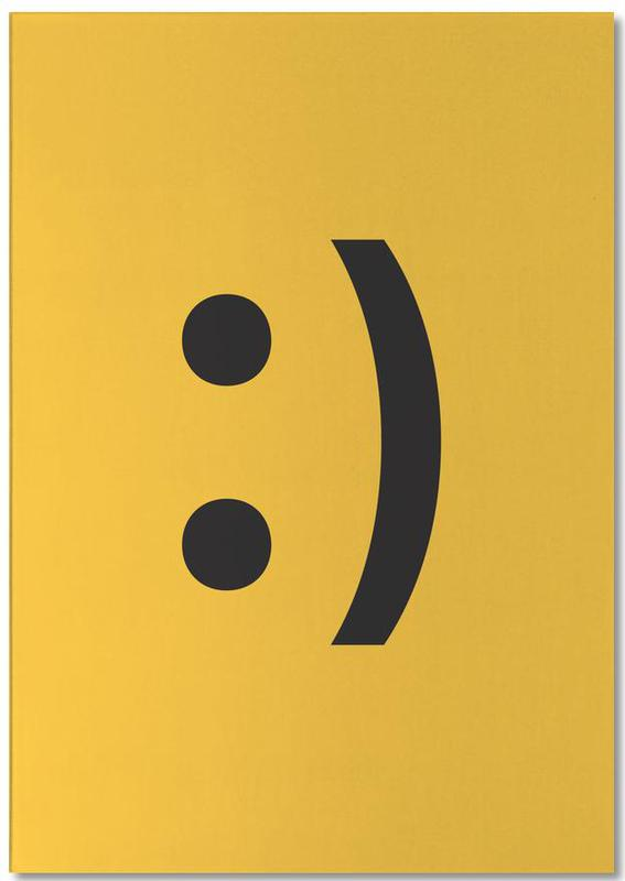 Smiley bloc-notes