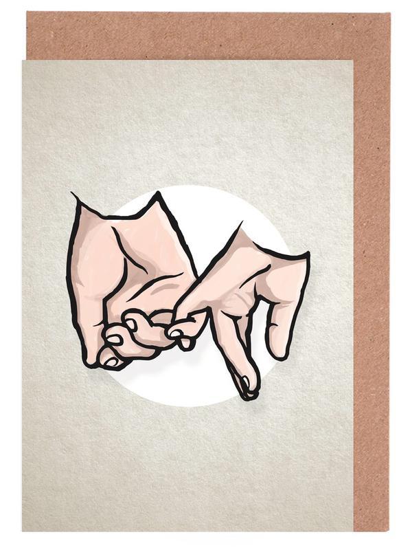 Pinky Greeting Card Set