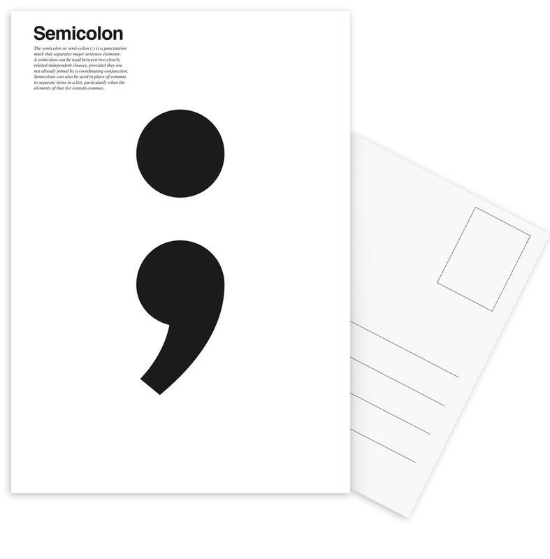 Semicolon Ansichtkaartenset