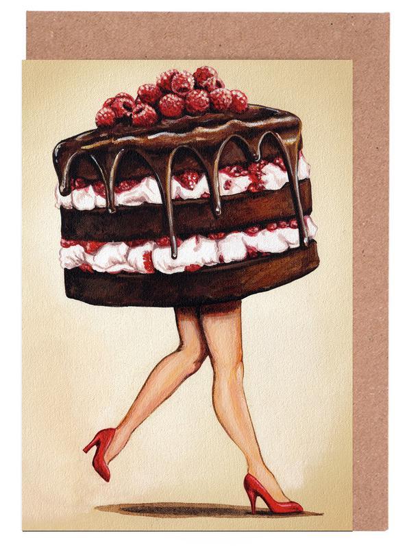Cake Walk Greeting Card Set
