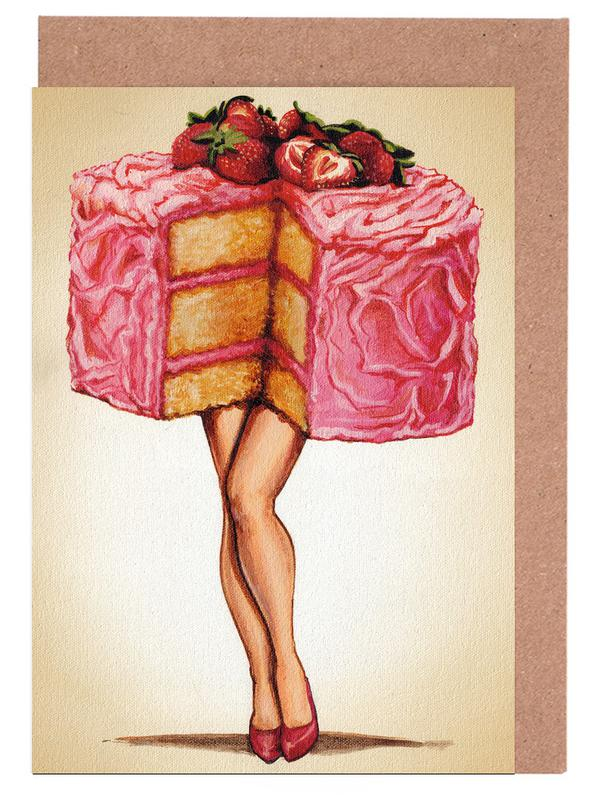 Hot Cakes Greeting Card Set
