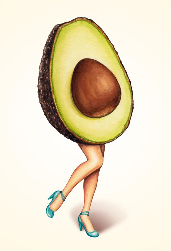Fruit Stand - Avocado Acrylic Print