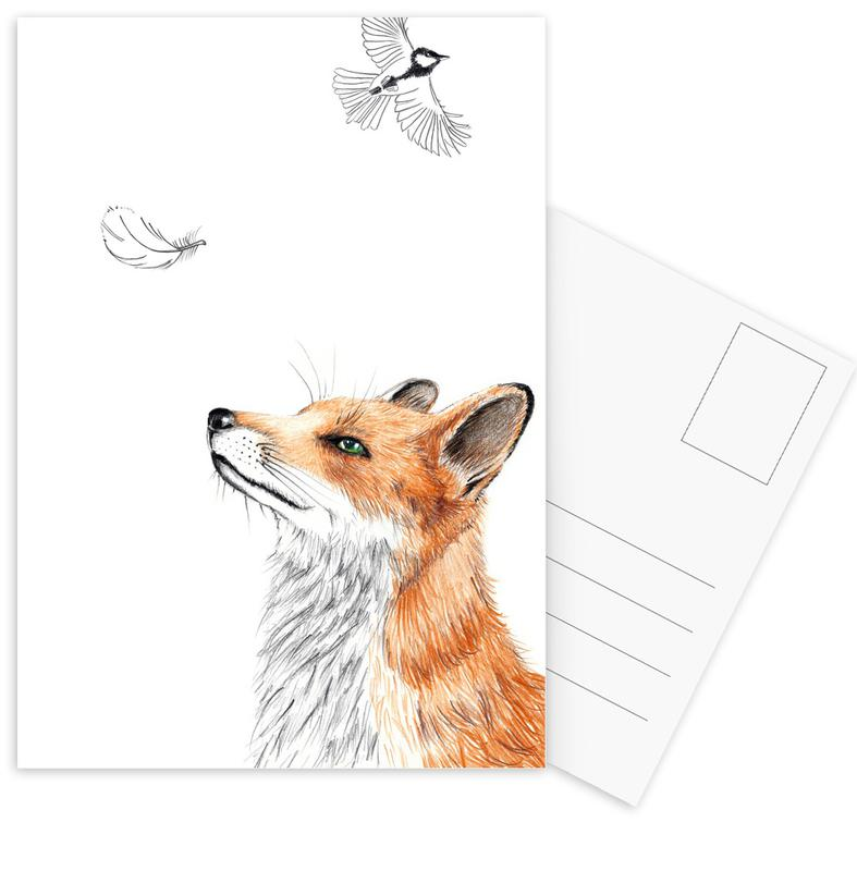 Fox Postcard Set
