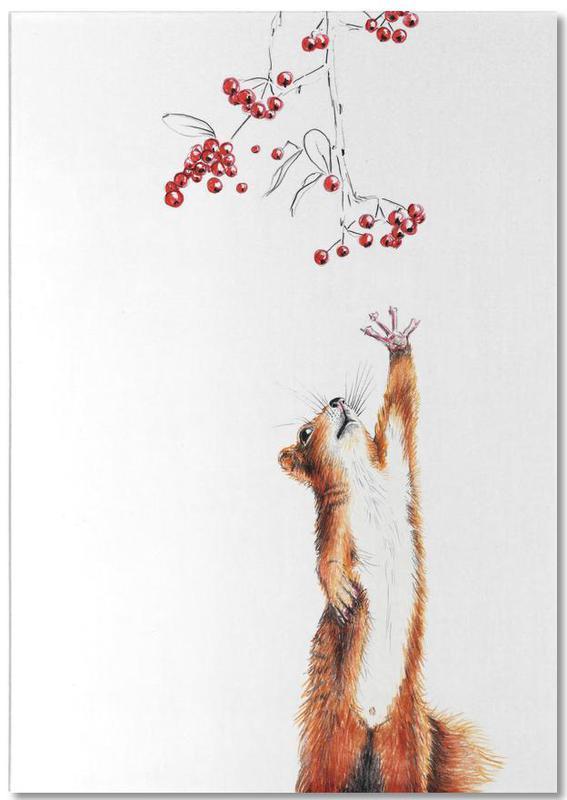 Squirrel -Notizblock