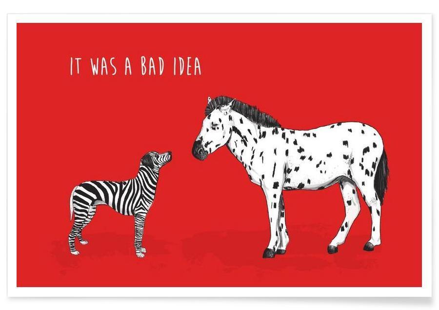Bad Idea Poster