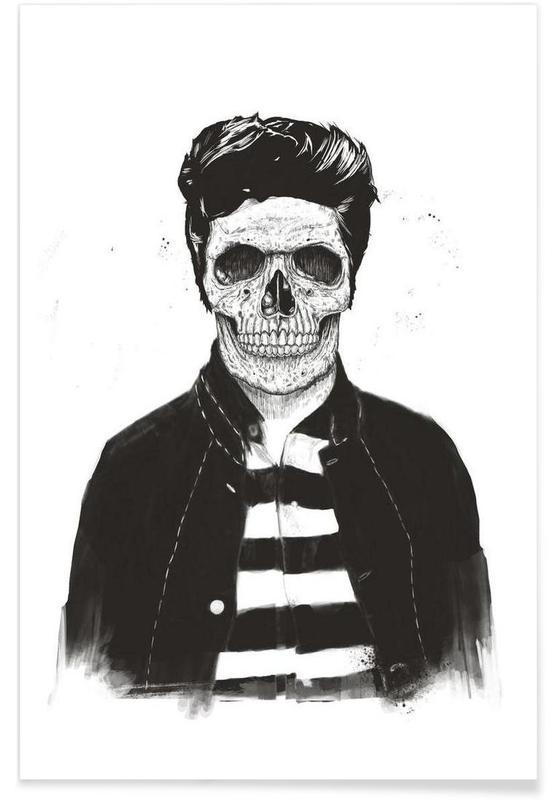 Death Fashion Premium Poster