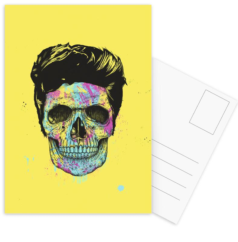 Color your death Postcard Set