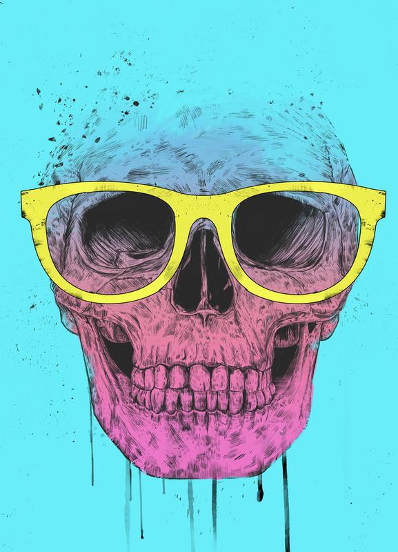 Pop Art Skull toile