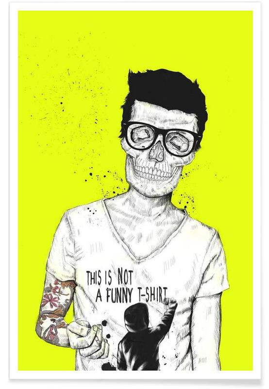Hipsters not dead affiche