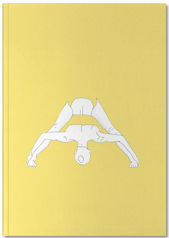 Yoga Practice 12 Notebook