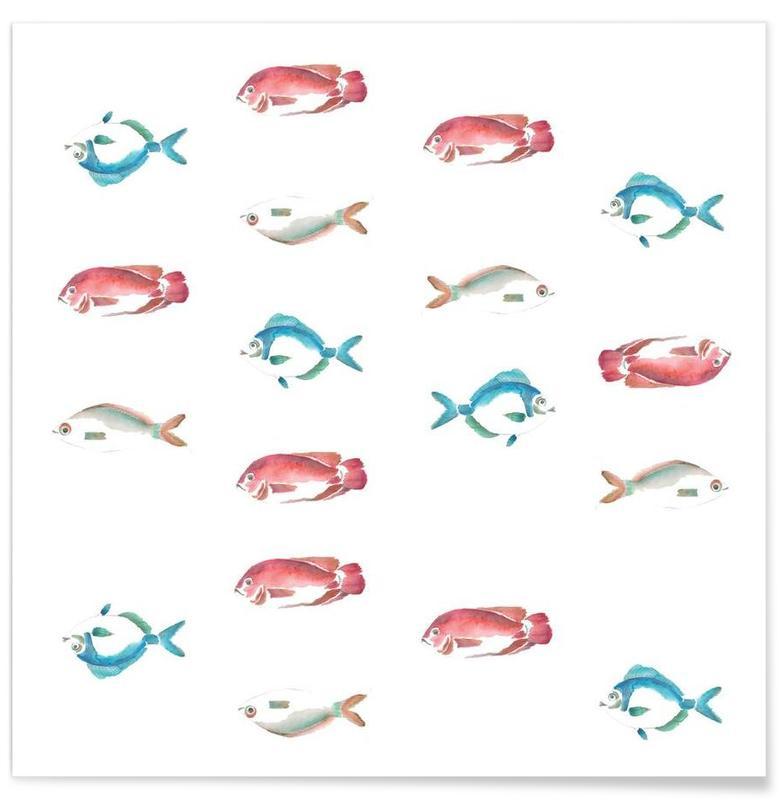 Pattern: La Mojarra Poster