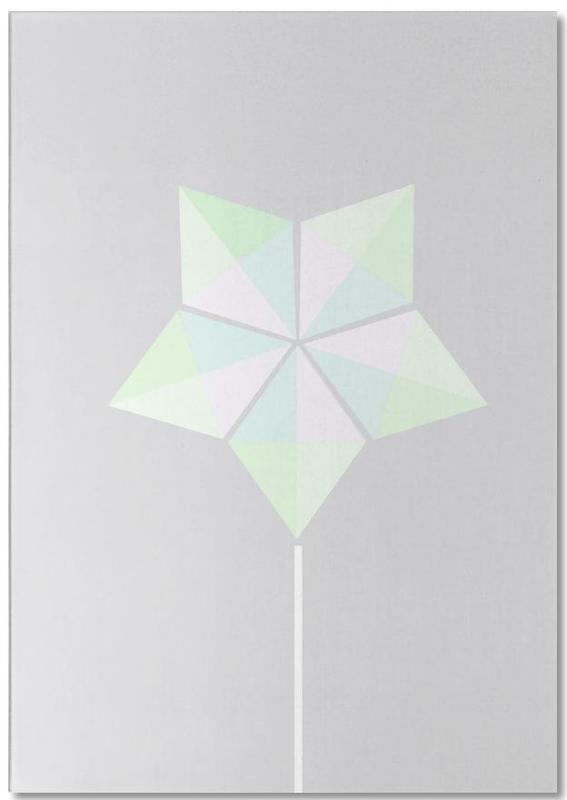 Windrad Notizblock | Garten > Dekoration | Mehrfarbig | Papier