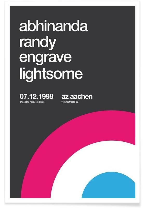 Abhinanda, Randy, Engrave -Poster