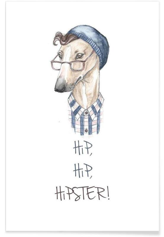 Hipster affiche