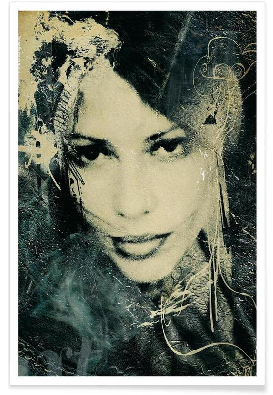 Voluptes Noires -Poster