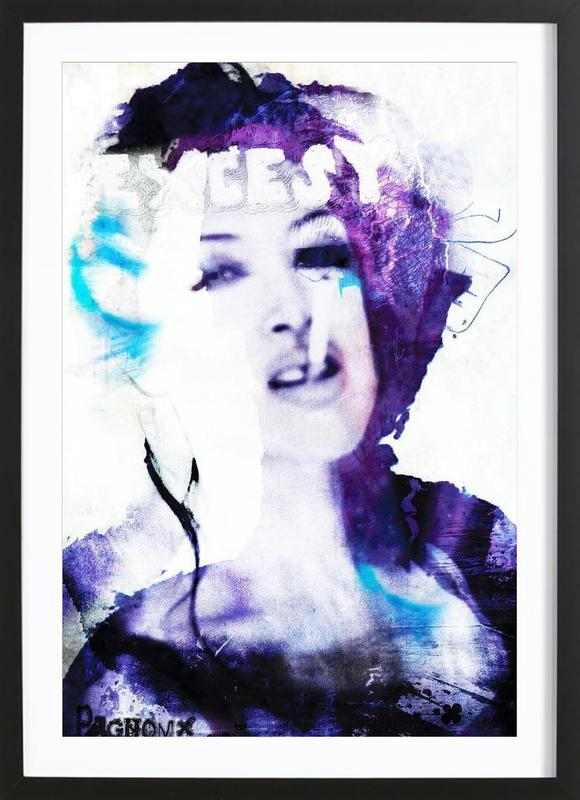 Exces Framed Print