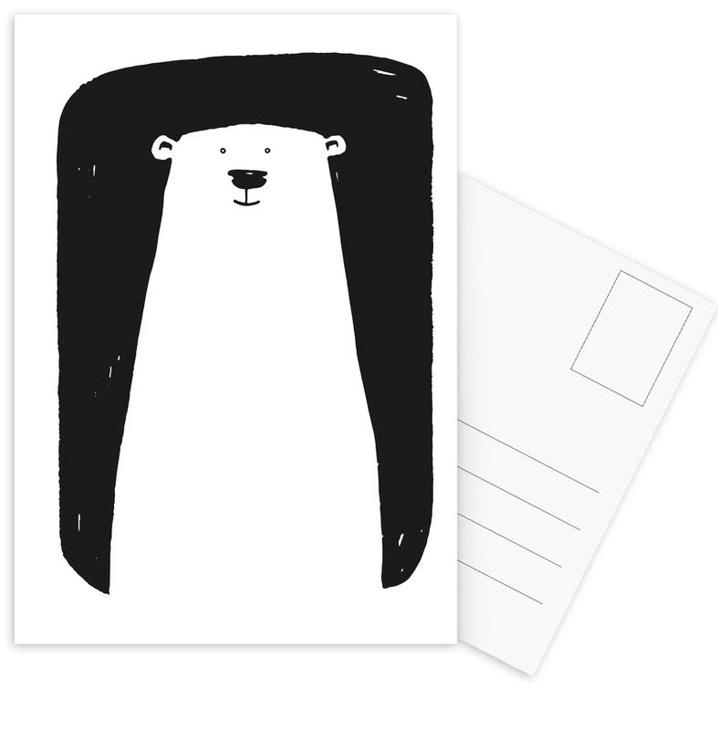 Bear Postcard Set