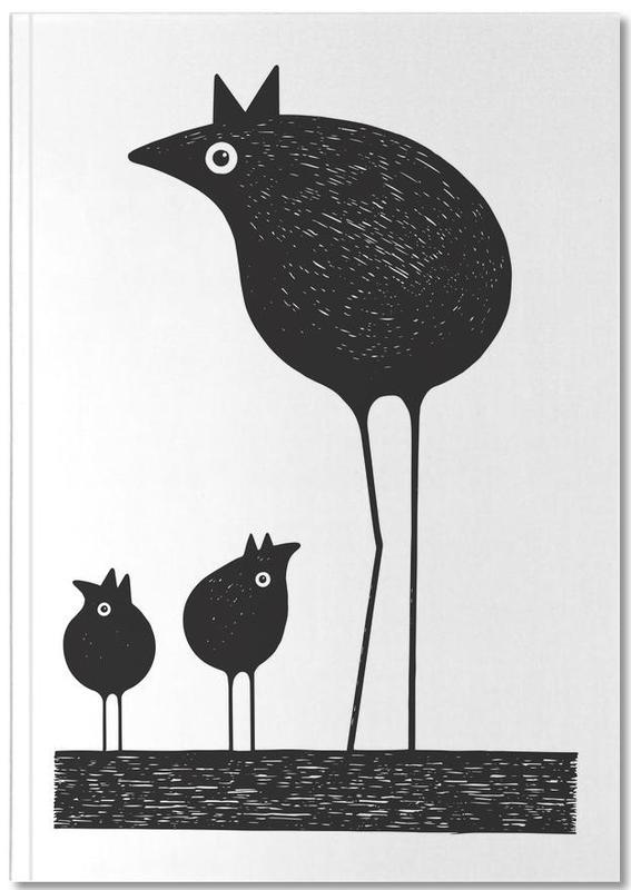 Birds Premium Notizbuch