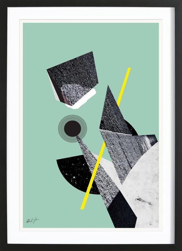 BAU3 Framed Print
