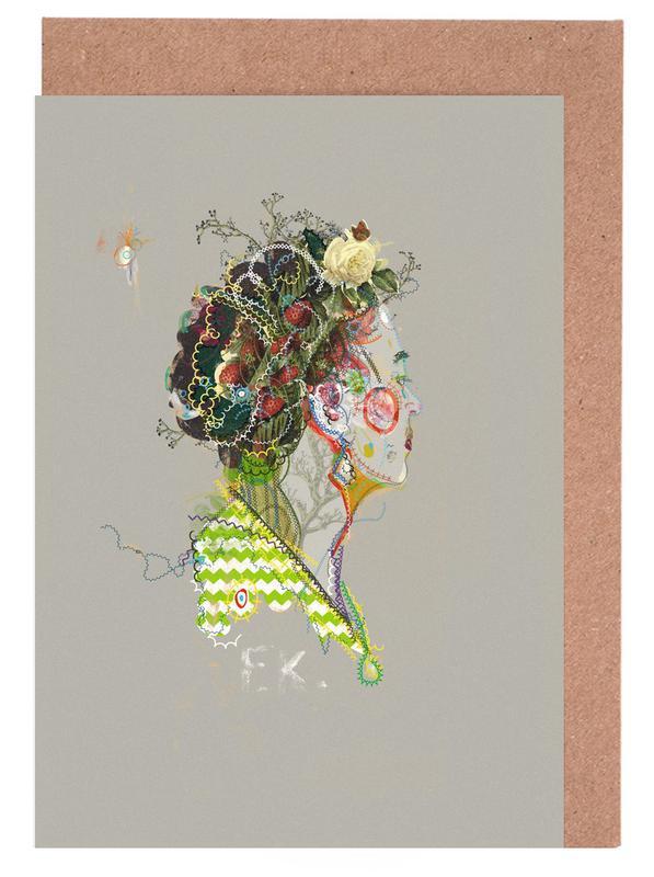 Frida 1 Greeting Card Set