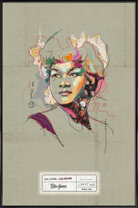 Etta Portrait Framed Poster