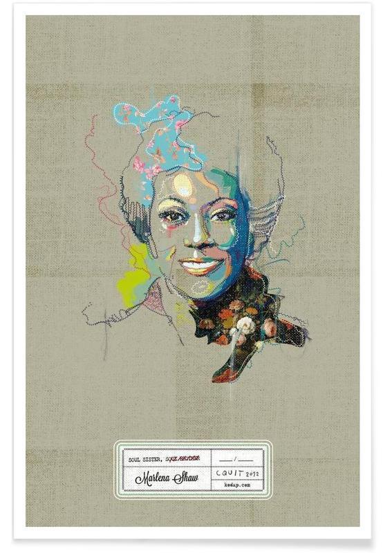 Marlena Portrait affiche
