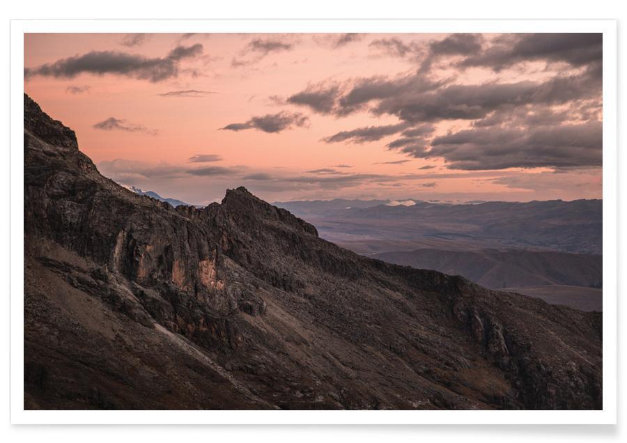 Huaraz-Kolumbien-Fotografie -Poster