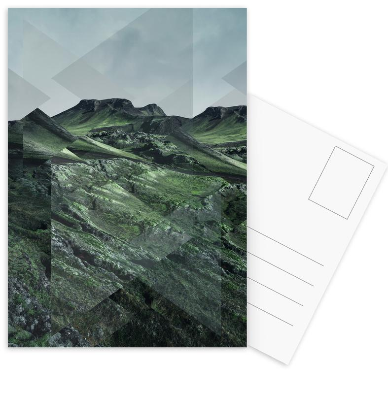 Scattered 3 Thorsmörk -Postkartenset