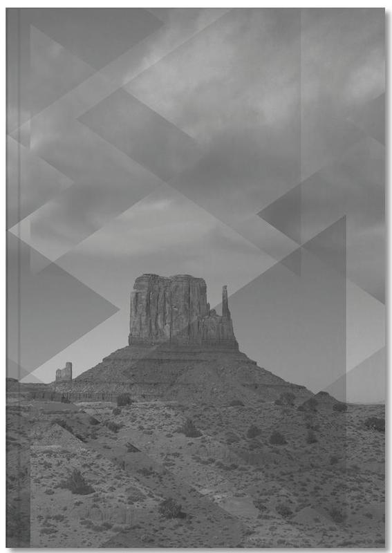 Scattered 4 Monument Valley Notebook