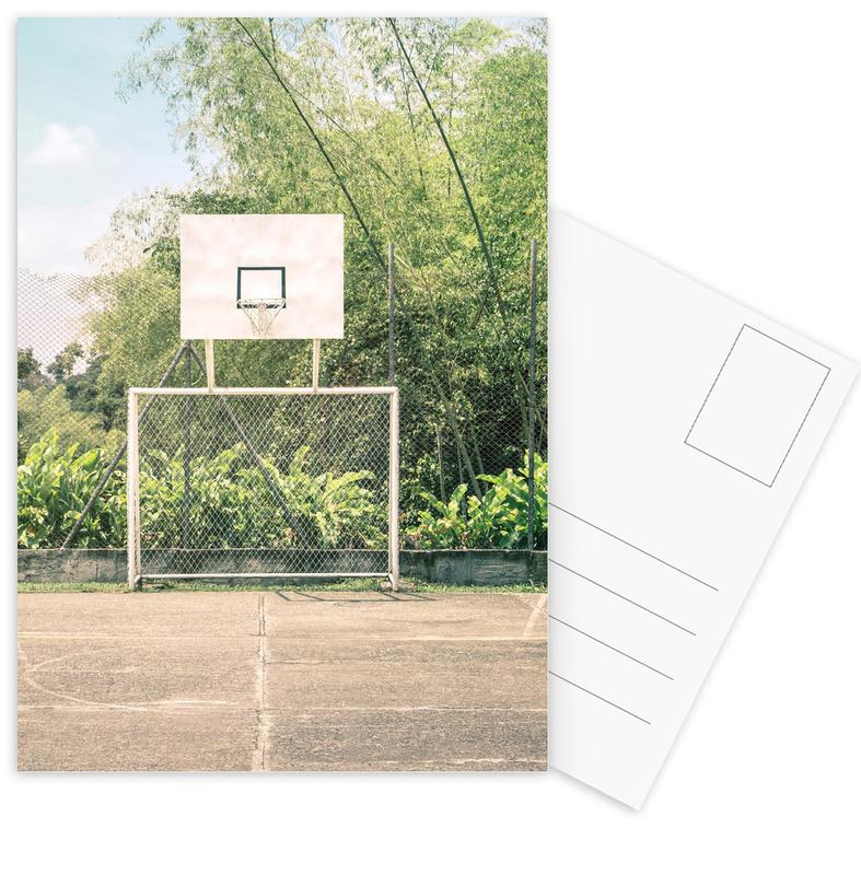 Streetball Courts 2 Manizales Colombia -Postkartenset