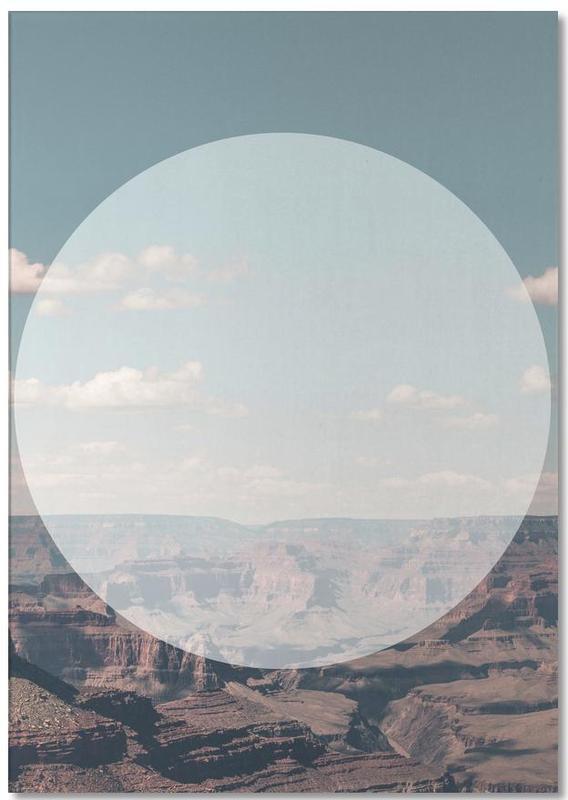 Grand Canyon Circular Notepad
