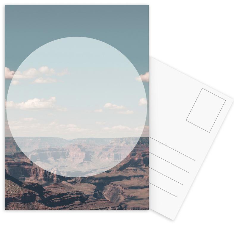 Grand Canyon Circular Postcard Set