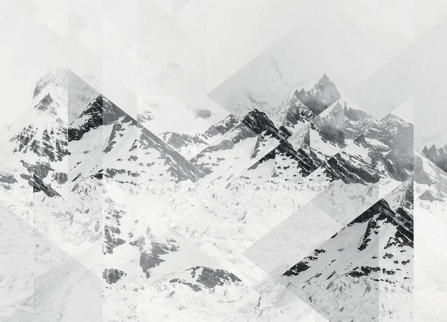 Perito Moreno Scattered Canvas Print