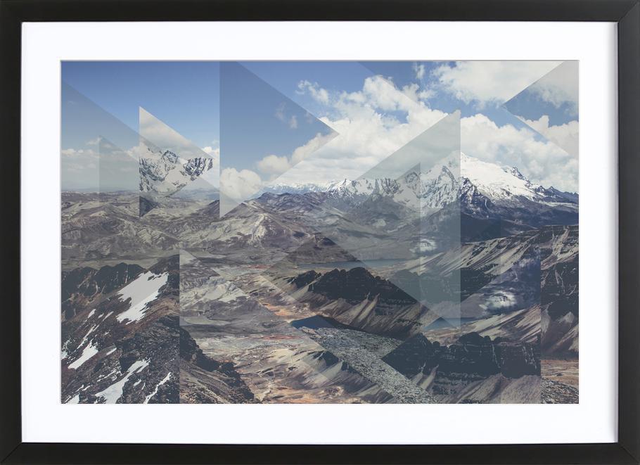 Scattered 2 Chacaltaya Framed Print