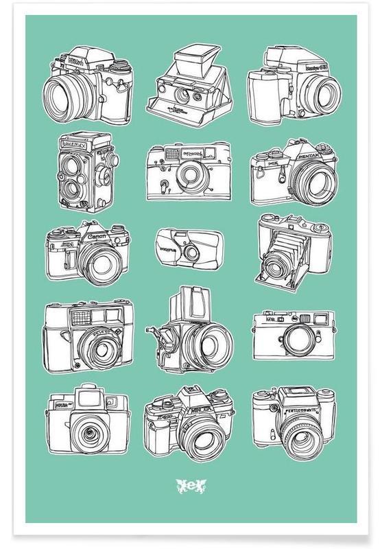 Camera Mint -Poster