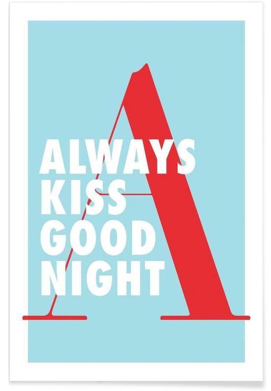 Kiss good night -Poster