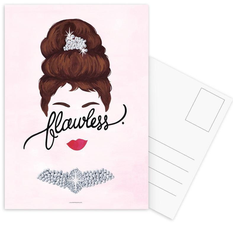 Flawless Audrey Postcard Set