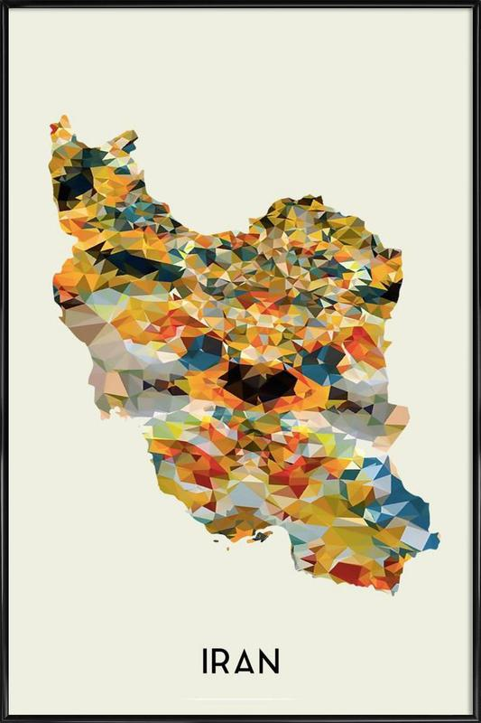 Iran Framed Poster