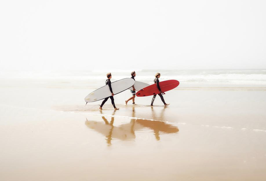 Surf Triple 1 Acrylic Print