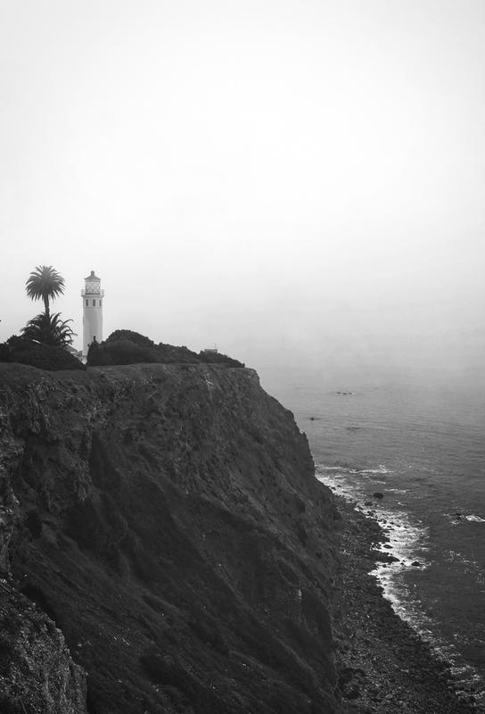 The Lighthouse Aluminium Print