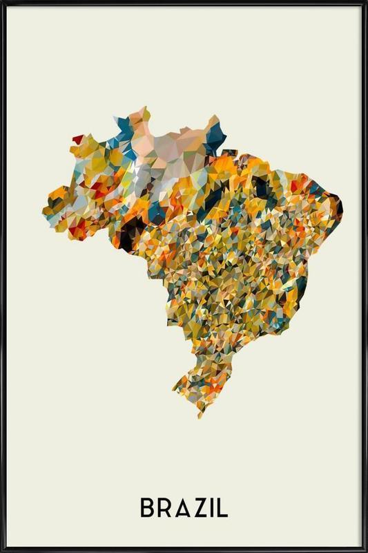 Brazil Framed Poster